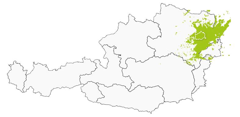 Sendegebiet Wien